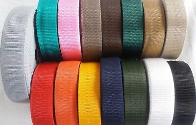 50mm PP Polypropylene Webbing Strapping Bags craft Straps