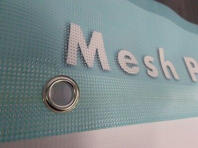 MESH PVC BANNERS 2ft x 8ft PRINTED  1