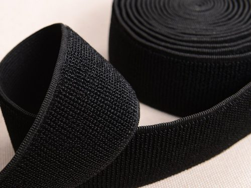 black white 2 elastic loop tape 0155 8004 f