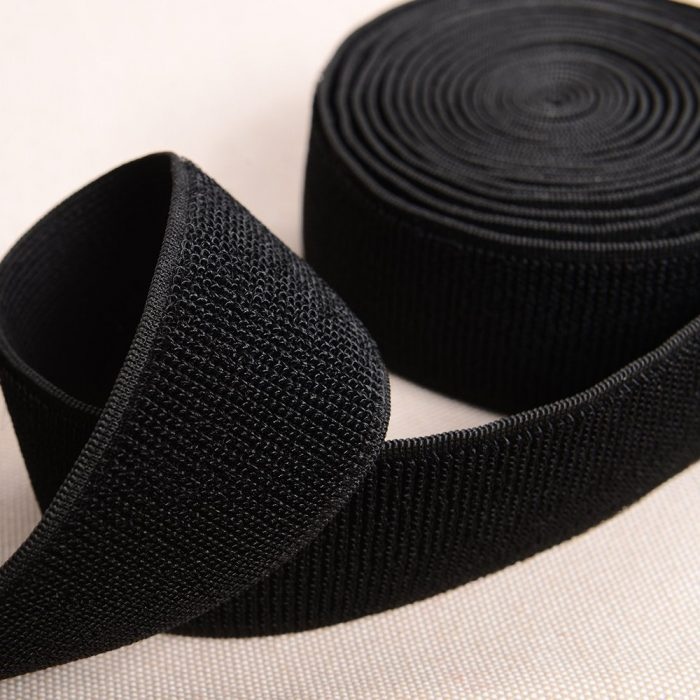 black white 2 elastic loop tape 0155 8004 f