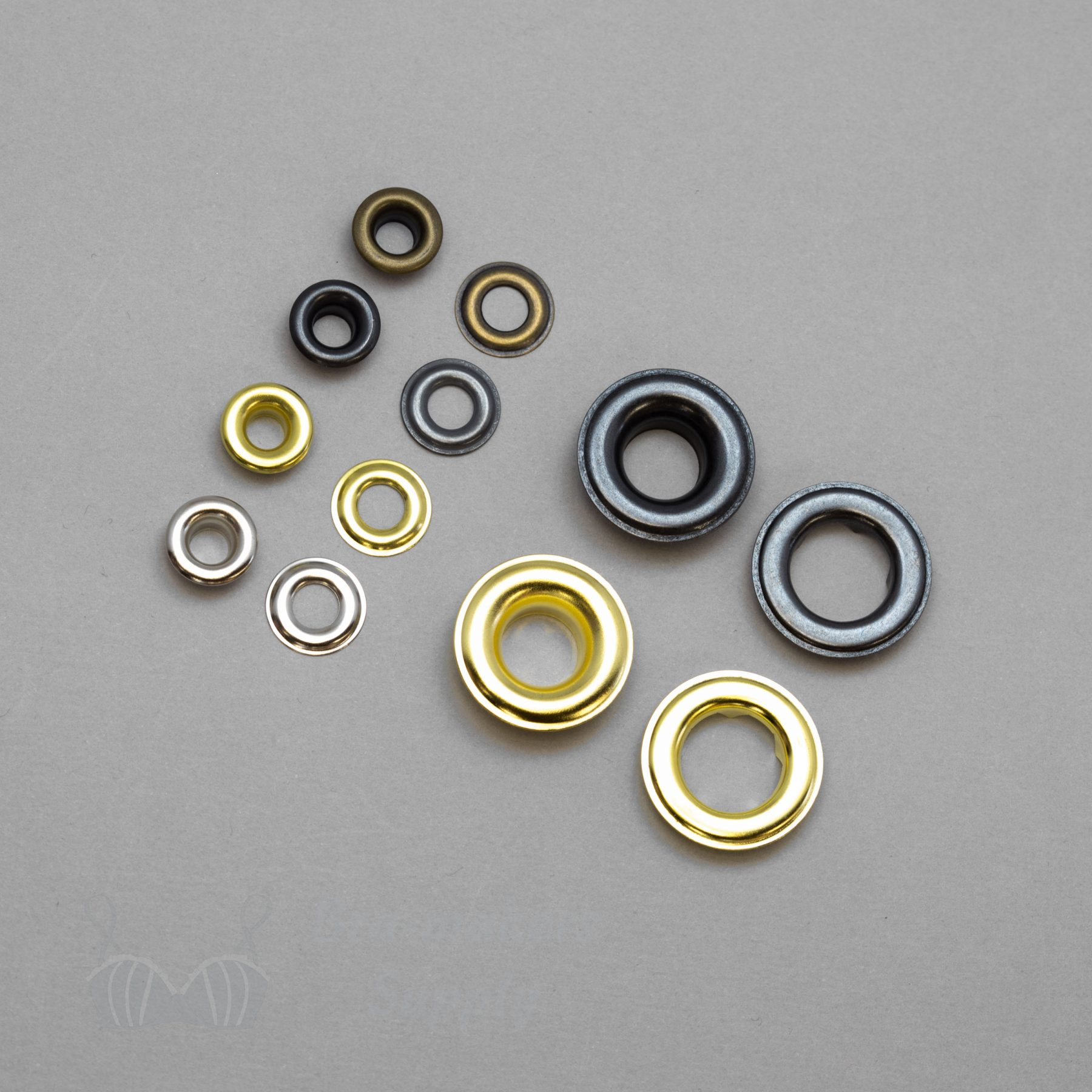 metal corset grommets or two part eyelets BS from Bra Makers Supply product photo scaled