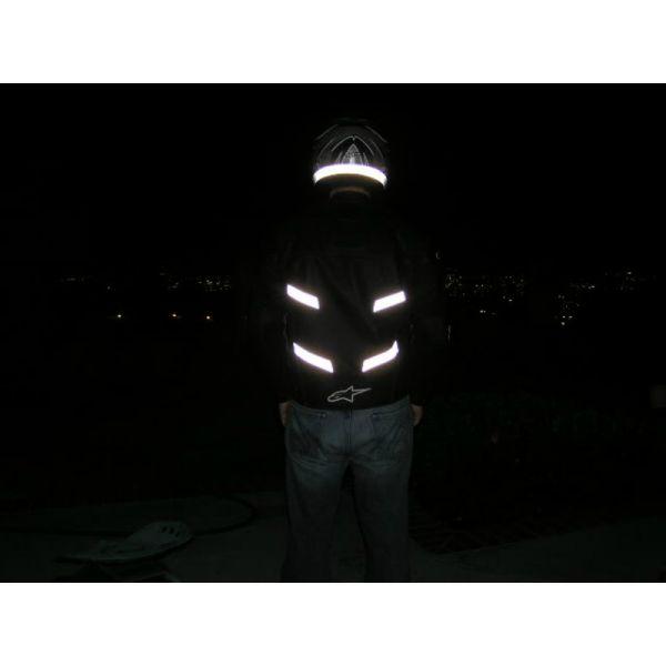 3 m reflective strips 5 meters x 25 mm reflective films sewing en471 certified