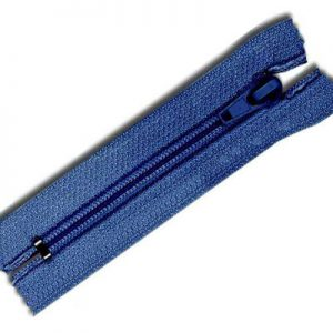 plastic closed end zipper