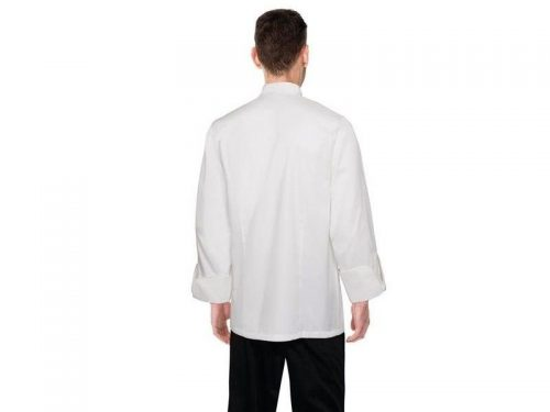 chef works madrid white 100 cotton chef jacket