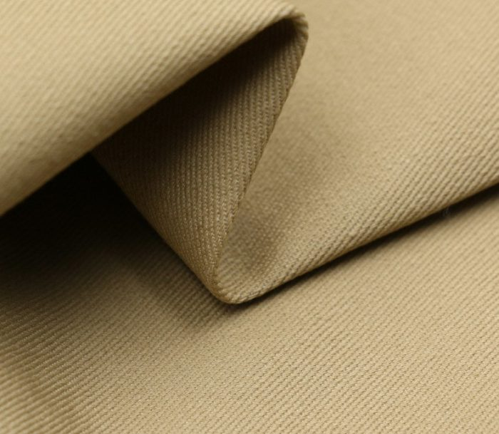 Competitive Price Khaki Stiffness Workwear Polyester Cotton Twill Fabric