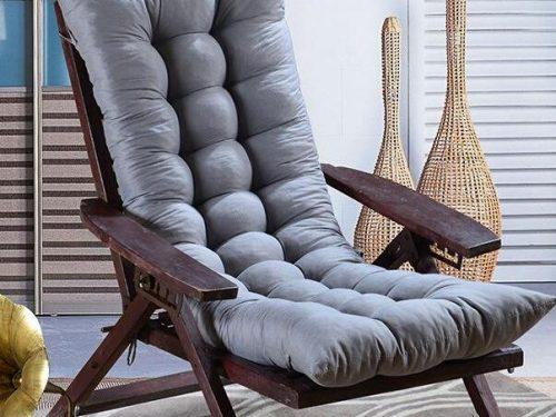Os lados dobro revers veis usam o coxim grosso coxim da cadeira coxim do assento da