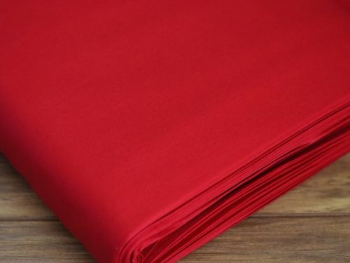 plain cotton fabric red 5b9