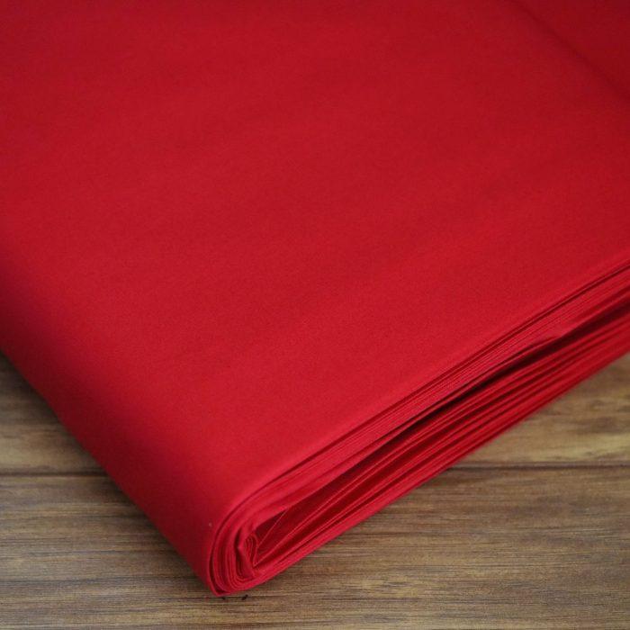 plain cotton fabric red 5b9