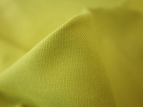 the millshop online panama plain cotton citron curtain upholstery fabric 1