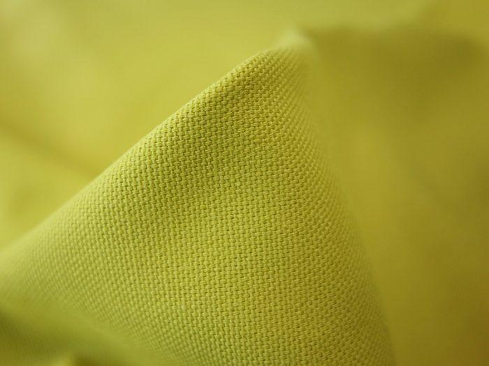 the millshop online panama plain cotton citron curtain upholstery fabric 1